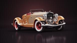 1933 Duesenberg SJ 霸气侧漏的经典老爷车