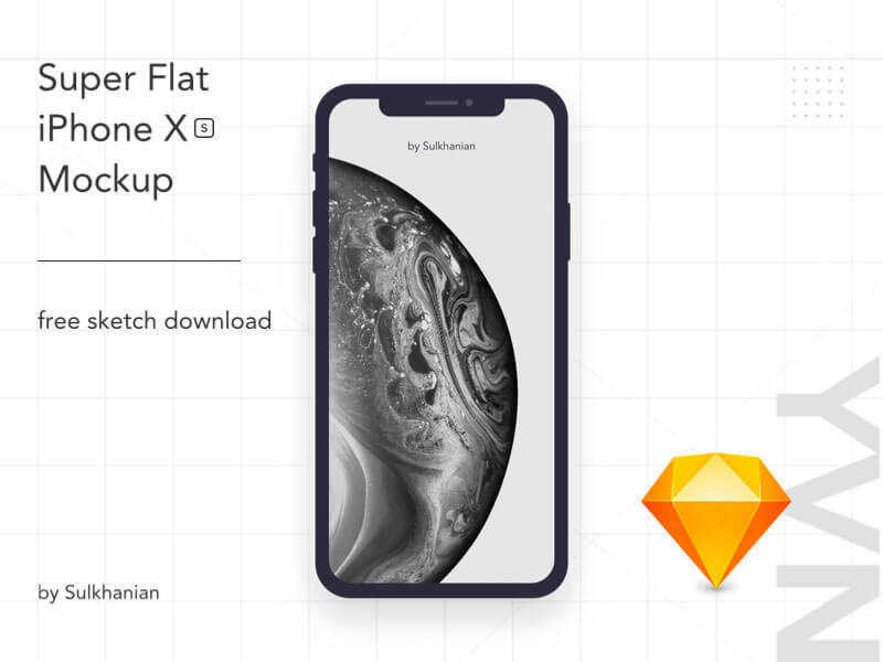 iPhone XS超级平板样机