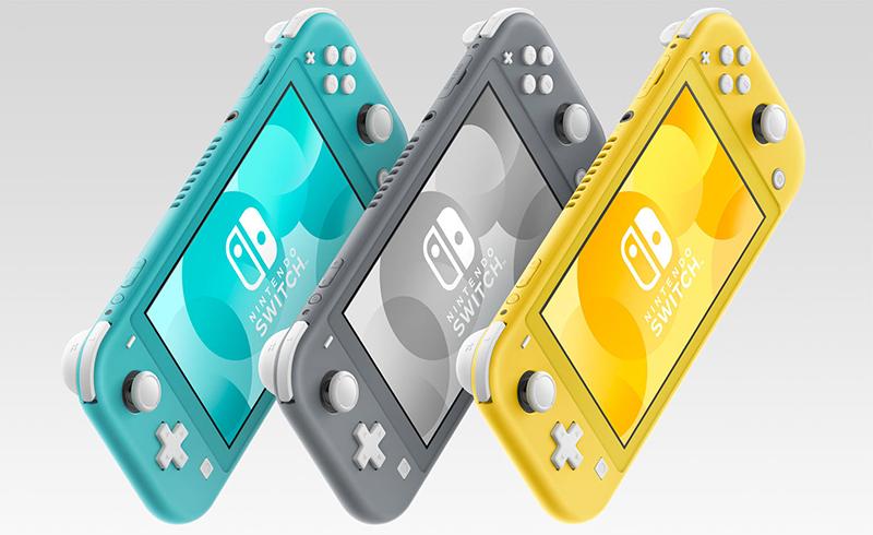 任天堂发布 Nintendo Switch Lite,它将在 9 月上市