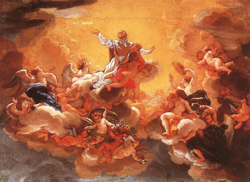 意大利《Apotheosis of St Ignatius》巴西西奥Baciccio