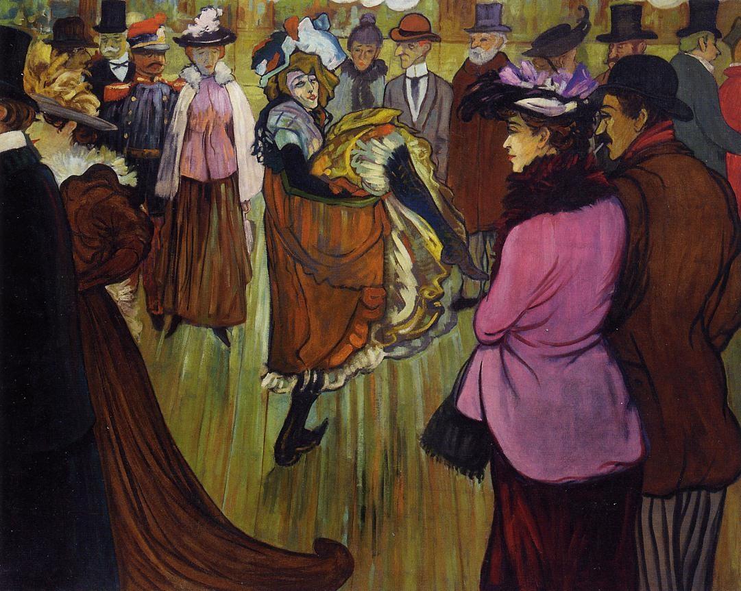 法国《At the Moulin Rouge》路易斯·安克坦Louis Anquetin