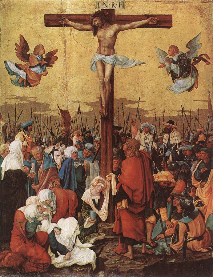 德国《Christ on the Cross》阿尔布雷希特·阿尔特多夫 Albrecht Altdorfer