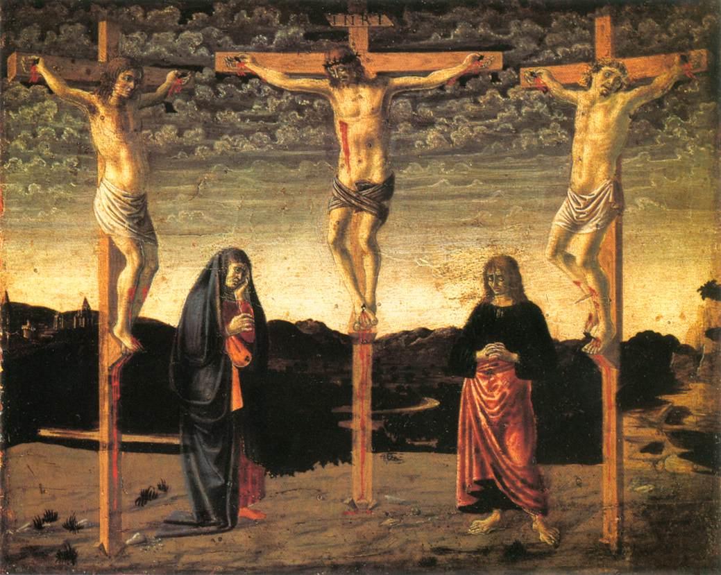 《Crucifixion 1》安德烈亚·德尔·卡斯坦诺Andrea del Castagno