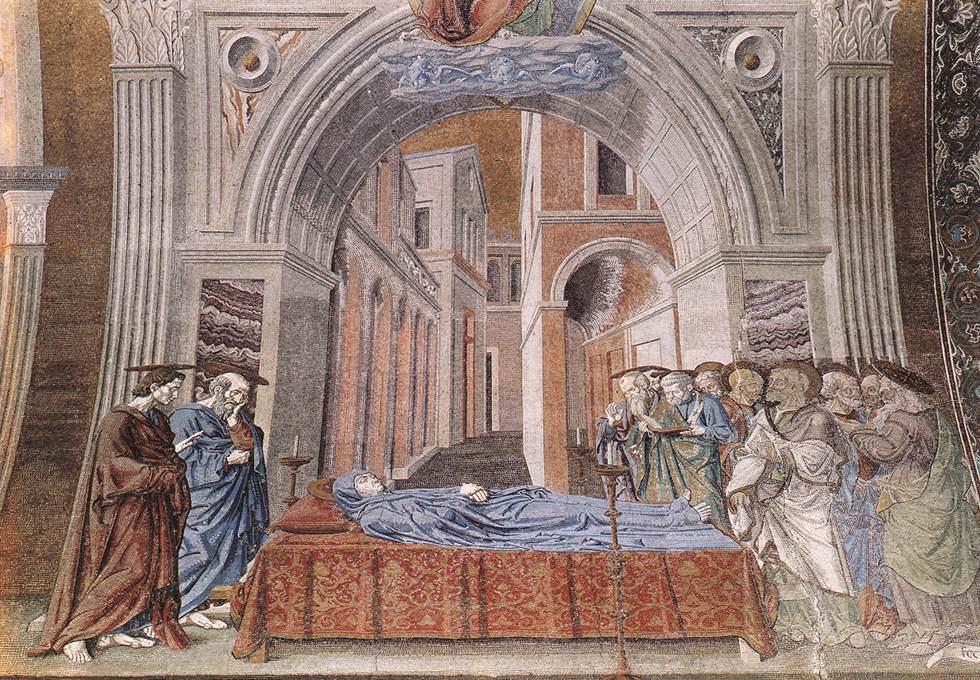《Death of the Virgin》安德烈亚·德尔·卡斯坦诺Andrea del Castagno