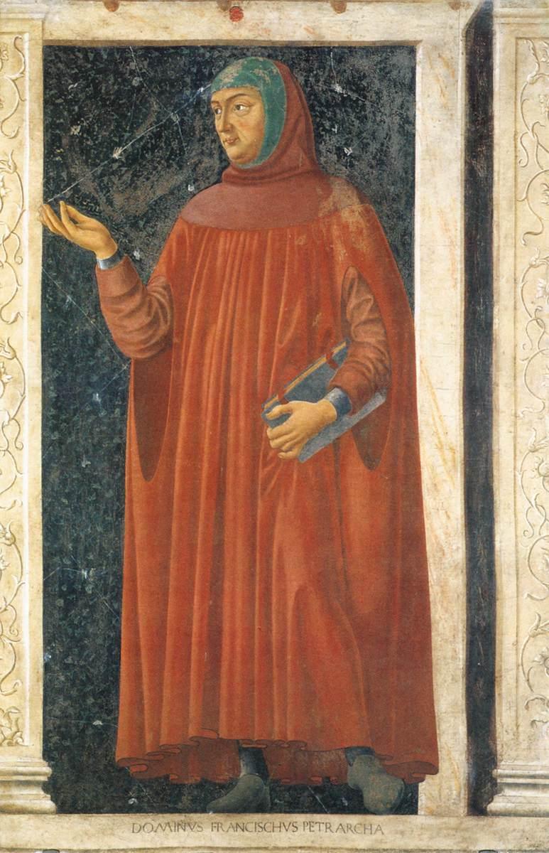 《Famous Persons - Francesco Petrarca》安德烈亚·德尔·卡斯坦诺Andrea del Castagno