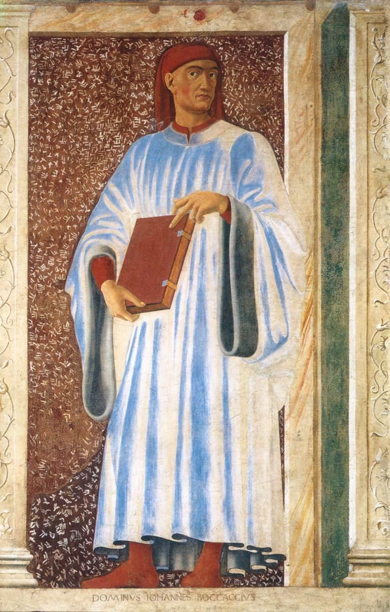 《Famous Persons - Giovanni Boccaccio》安德烈亚·德尔·卡斯坦诺Andrea del Castagno