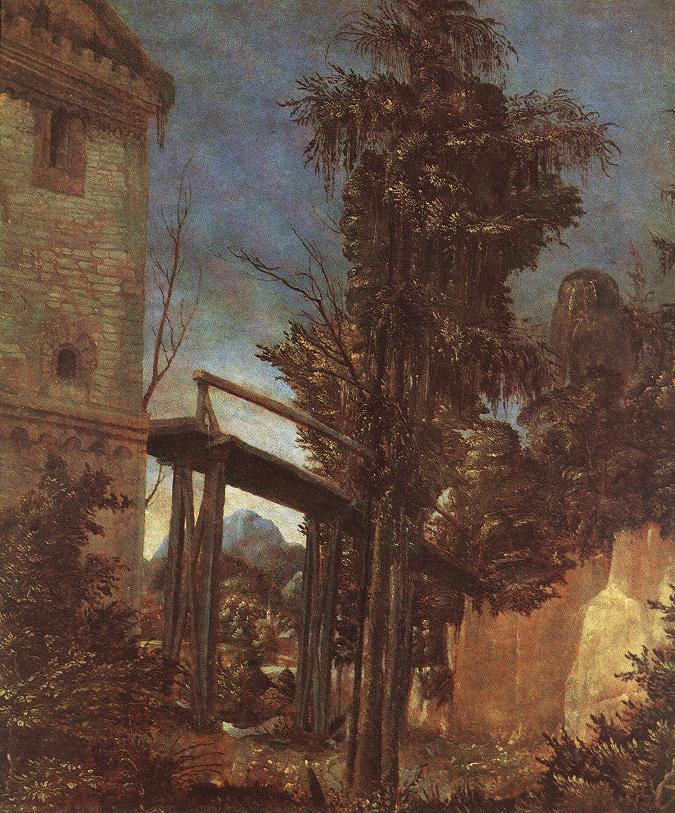 德国《Landscape with Path》阿尔布雷希特·阿尔特多夫 Albrecht Altdorfer