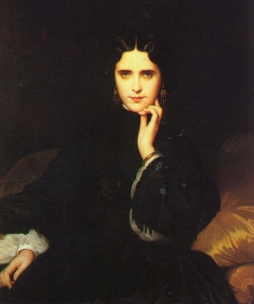 法国《Madame de Loynes》欧仁·伊曼纽尔·阿莫里·杜瓦尔 Amaury-Duval Eugene-Emmanuel