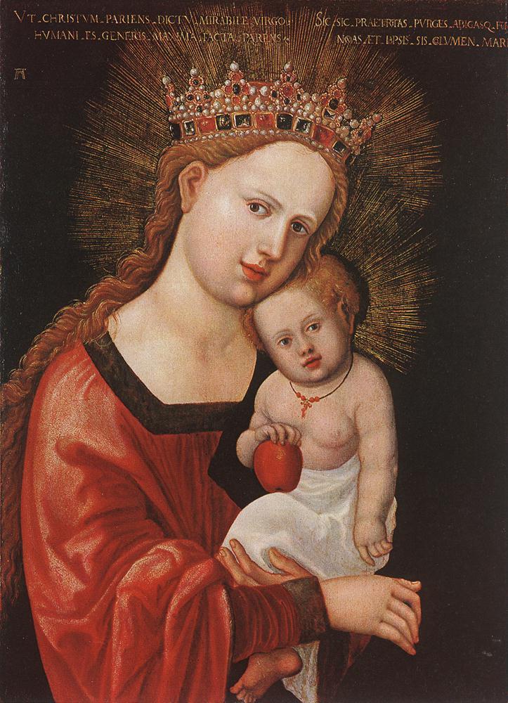 德国《Mary with the Child》阿尔布雷希特·阿尔特多夫 Albrecht Altdorfer