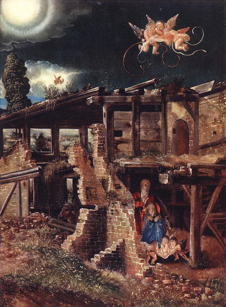德国《Nativity》阿尔布雷希特·阿尔特多夫 Albrecht Altdorfer