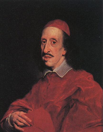 意大利《Portrait of Cardinal Leopoldo de' Medici》巴西西奥Baciccio