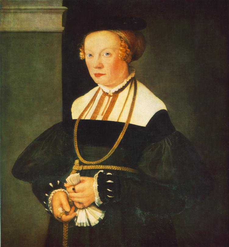 德国《Portrait of Felicitas Seiler》克里斯托弗•安贝格尔 Amberger Christoph