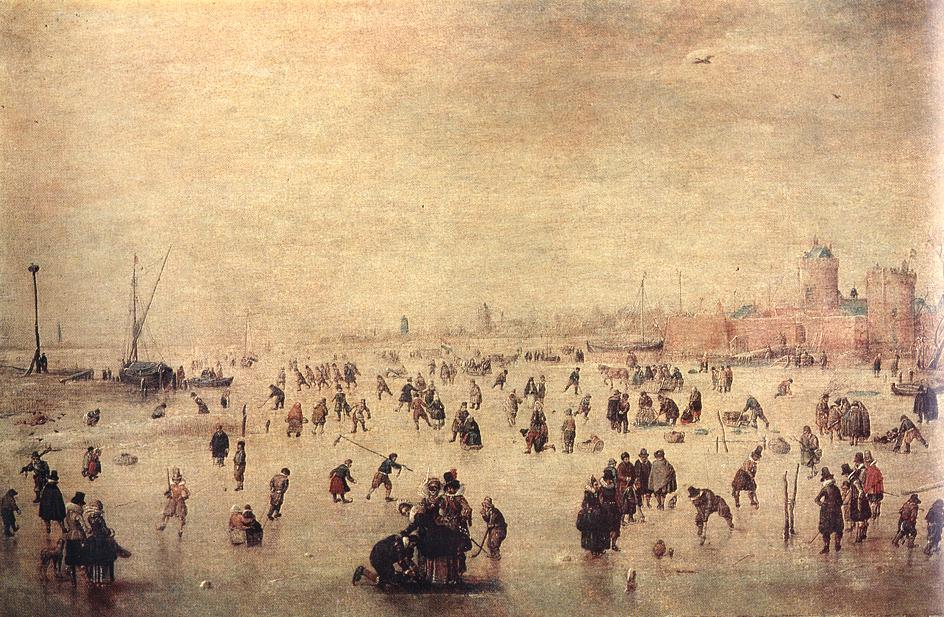 荷兰《Skaters》亨利克·阿维坎普Hendrick Avercamp