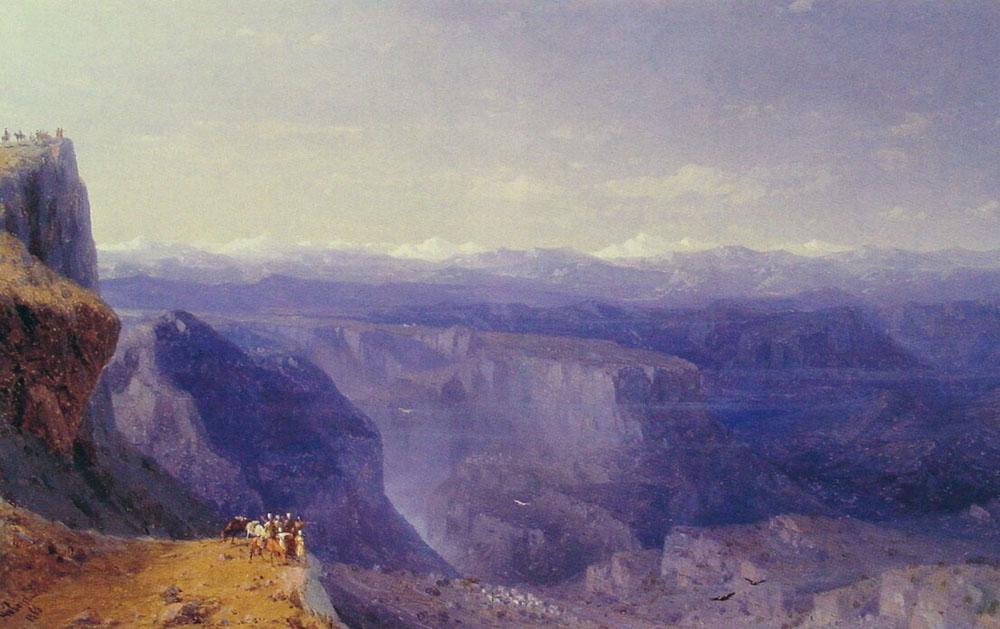 俄罗斯《The Caucasus》伊凡·康斯坦丁诺维奇·艾瓦佐夫斯基 Ivan Konstantinovich Aivazovsky