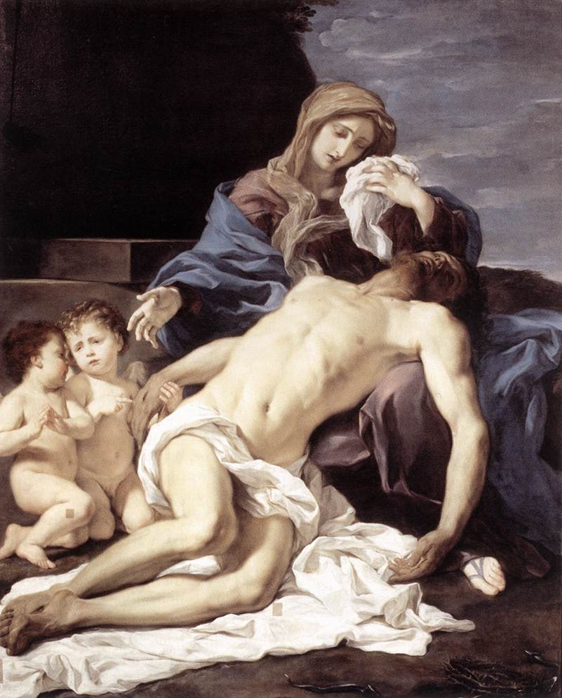 意大利《The Pietà》巴西西奥Baciccio