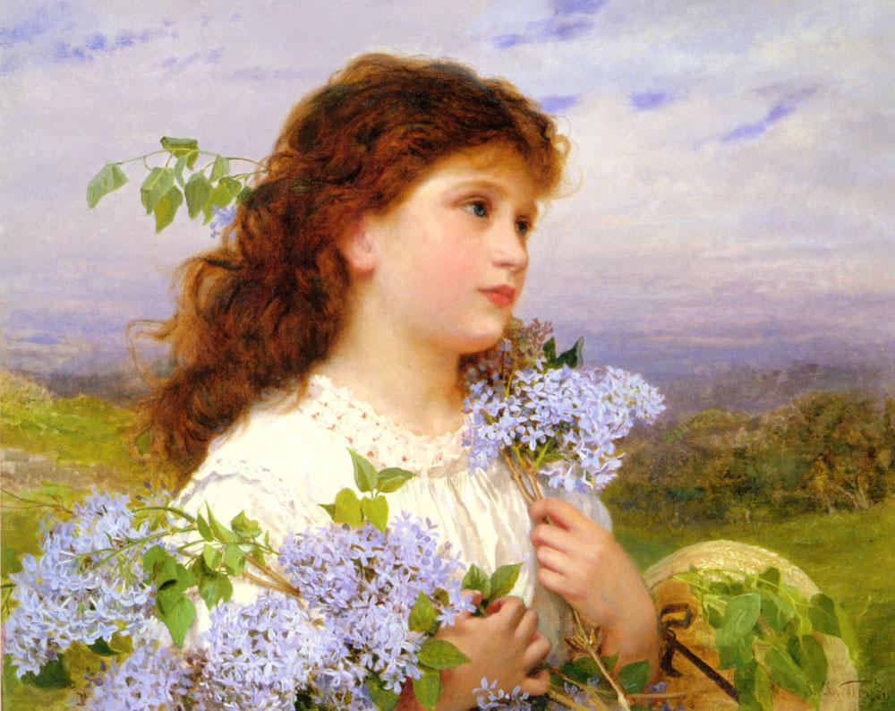 英国《The Time of the Lilacs》苏菲·冈恩布里·安德森 Sophie Gengembre Anderson