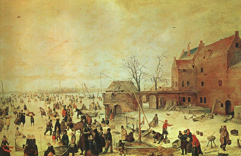荷兰《Winter Landscape 1》亨利克·阿维坎普Hendrick Avercamp
