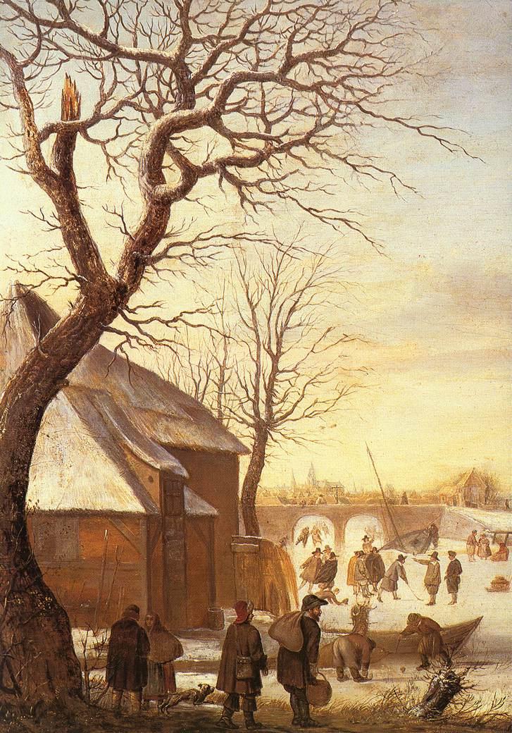 荷兰《Winter Landscape 2》亨利克·阿维坎普Hendrick Avercamp