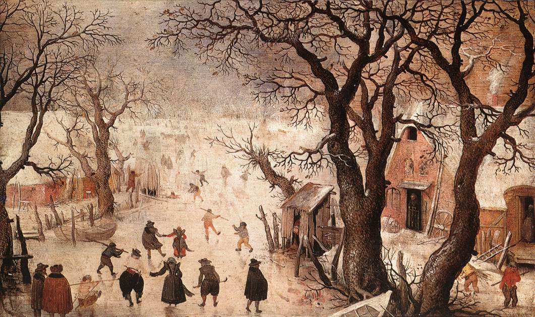 荷兰《Winter Landscape 3》亨利克·阿维坎普Hendrick Avercamp