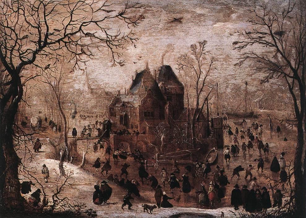 荷兰《Winter Landscape 4》亨利克·阿维坎普Hendrick Avercamp