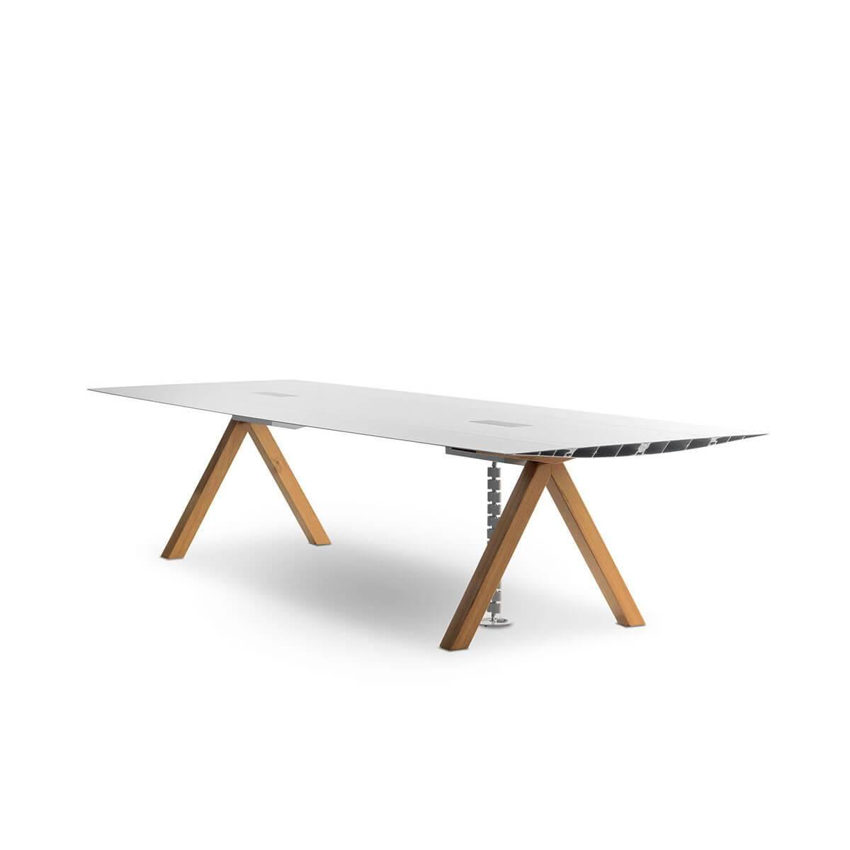 b.d barcelona design  Table B Cable Management 办公桌
