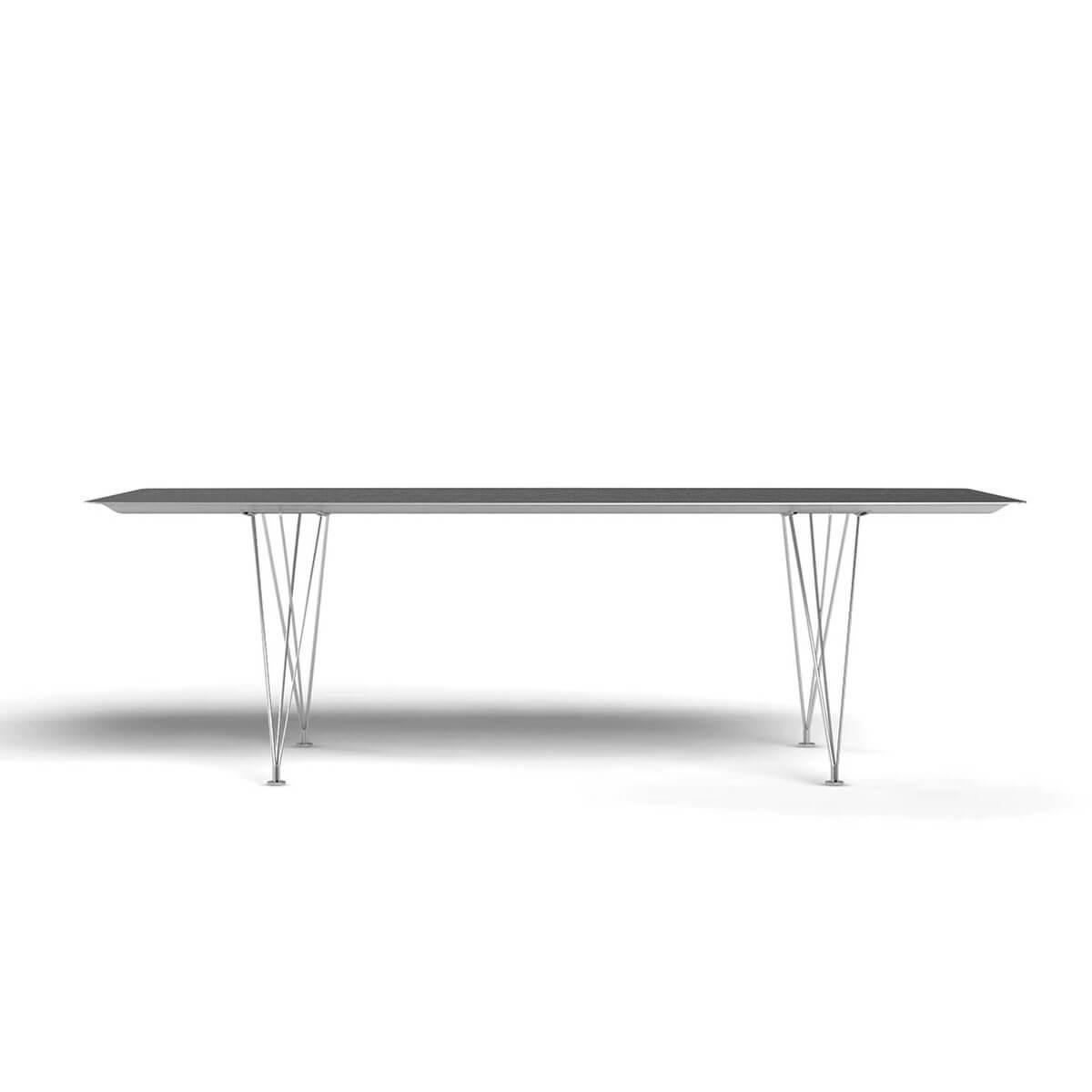 b.d barcelona design  Table B - Steel 办公桌