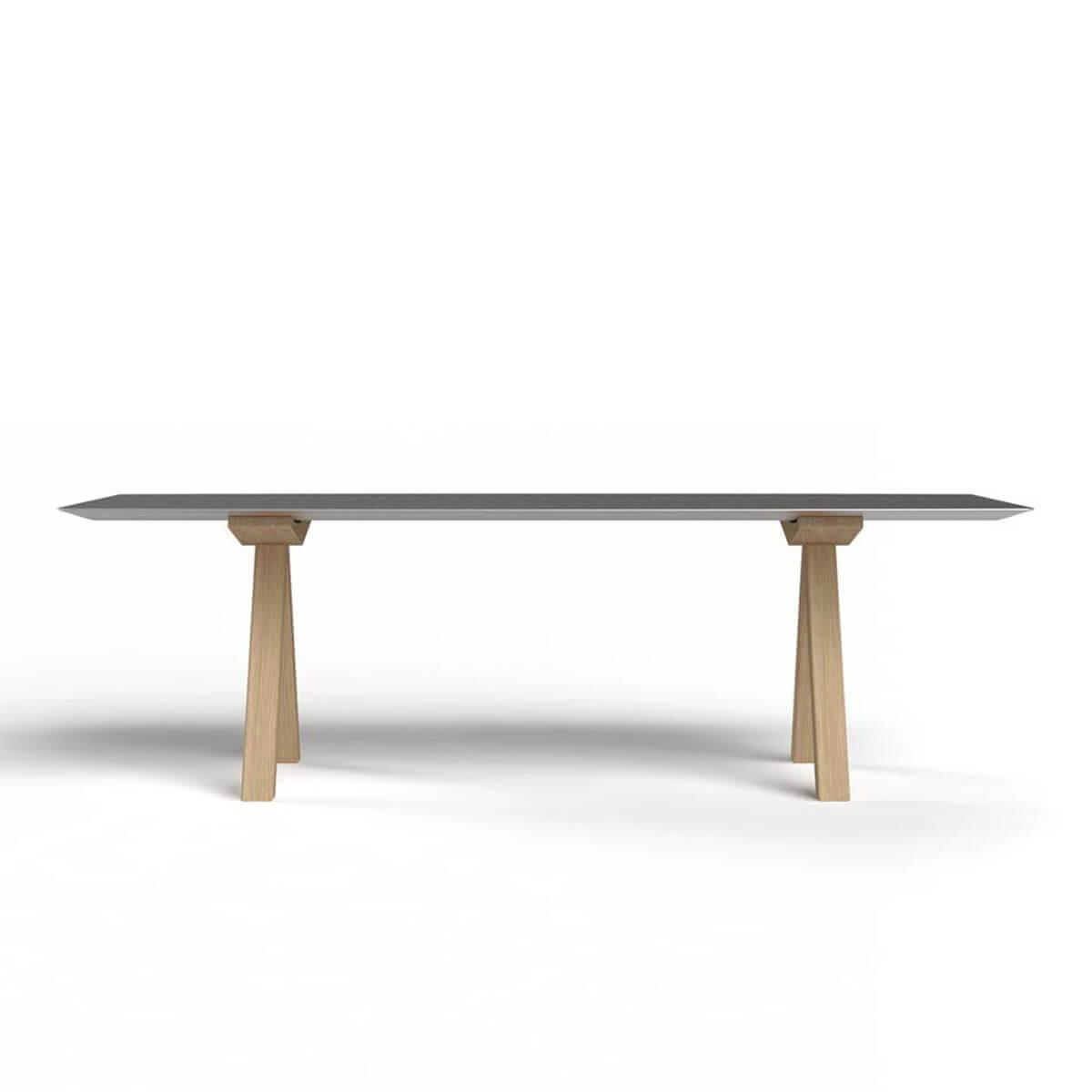 b.d barcelona design  Table B - Wood 办公桌