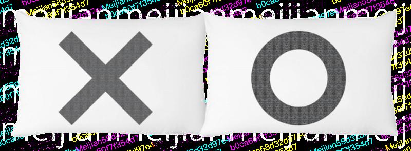 枕套 Pillow case set-XO,The Rise And Fall,Mamamoon