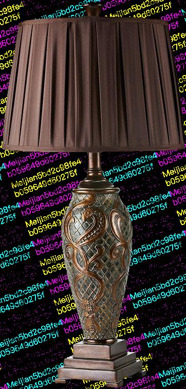 欧式台灯奢华复古美式卧室客厅书桌房间怀旧别墅乡村大气仿古艺术