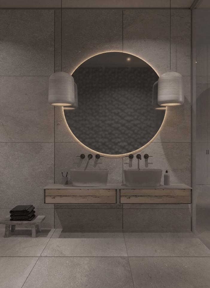 轻奢卫浴柜