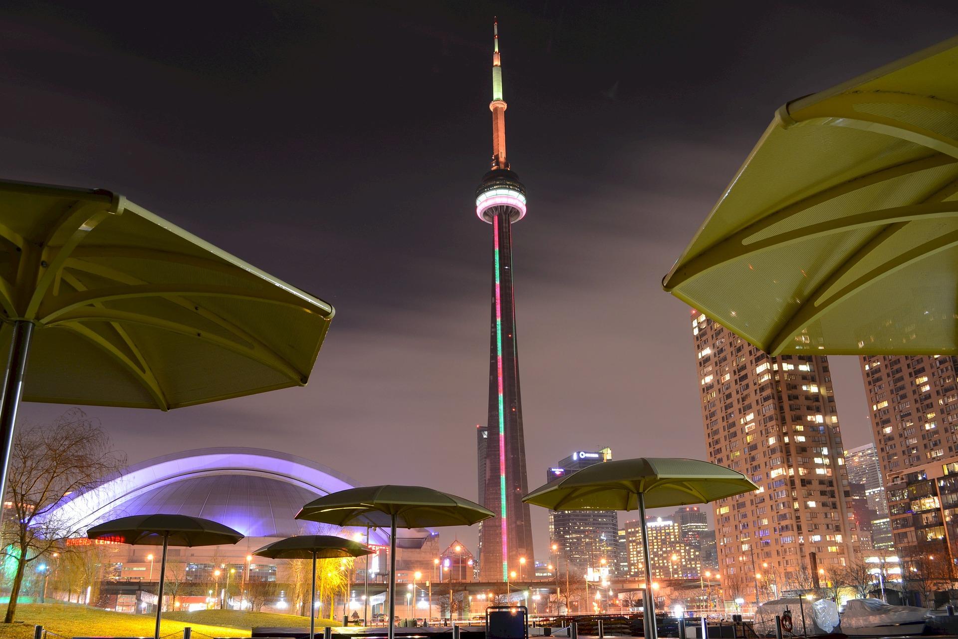 多伦多塔the cn tower