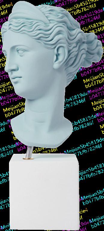 Sophia雕像/ 狩猎女神Artemis /希腊进口陶土雕像石膏摆件