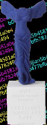 悦生活/Sophia雕塑/胜利女神NIKE /希腊陶制雕像艺术品/石膏摆件