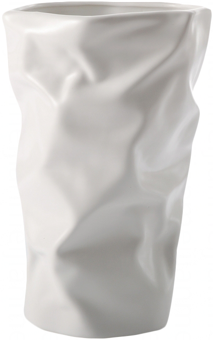贝驰家居 皱纸花瓶