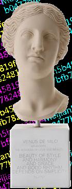 Sophia雕像/爱神维纳斯Venus陶土艺术品雕塑/石膏书房摆件