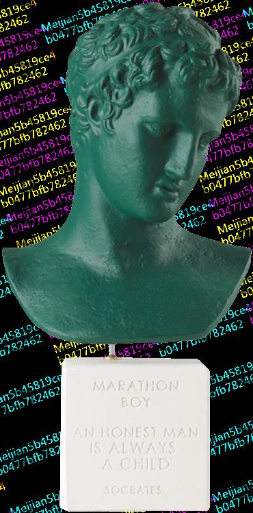 Sophia雕塑/希腊马拉松男孩/艺术雕像/雕塑陶制摆件