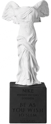 Sophia雕塑/胜利女神NIKE /希腊陶制雕像艺术品/石膏摆件