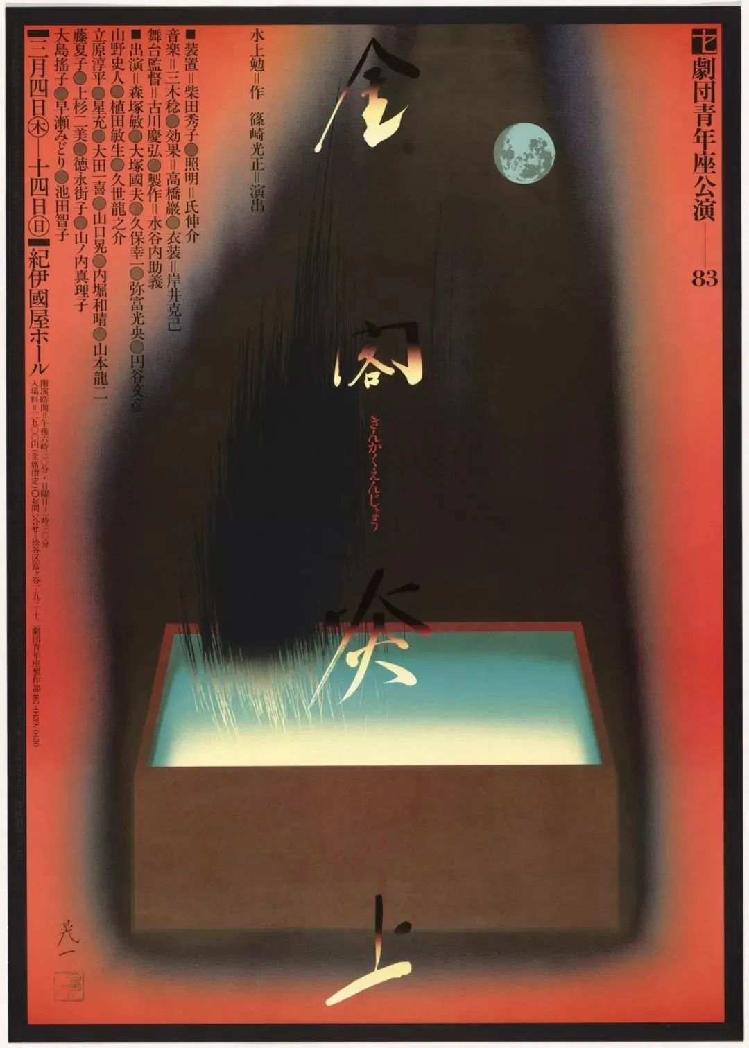 佐藤晃一Koichi Sato. Kinkaku Enjo. 1983