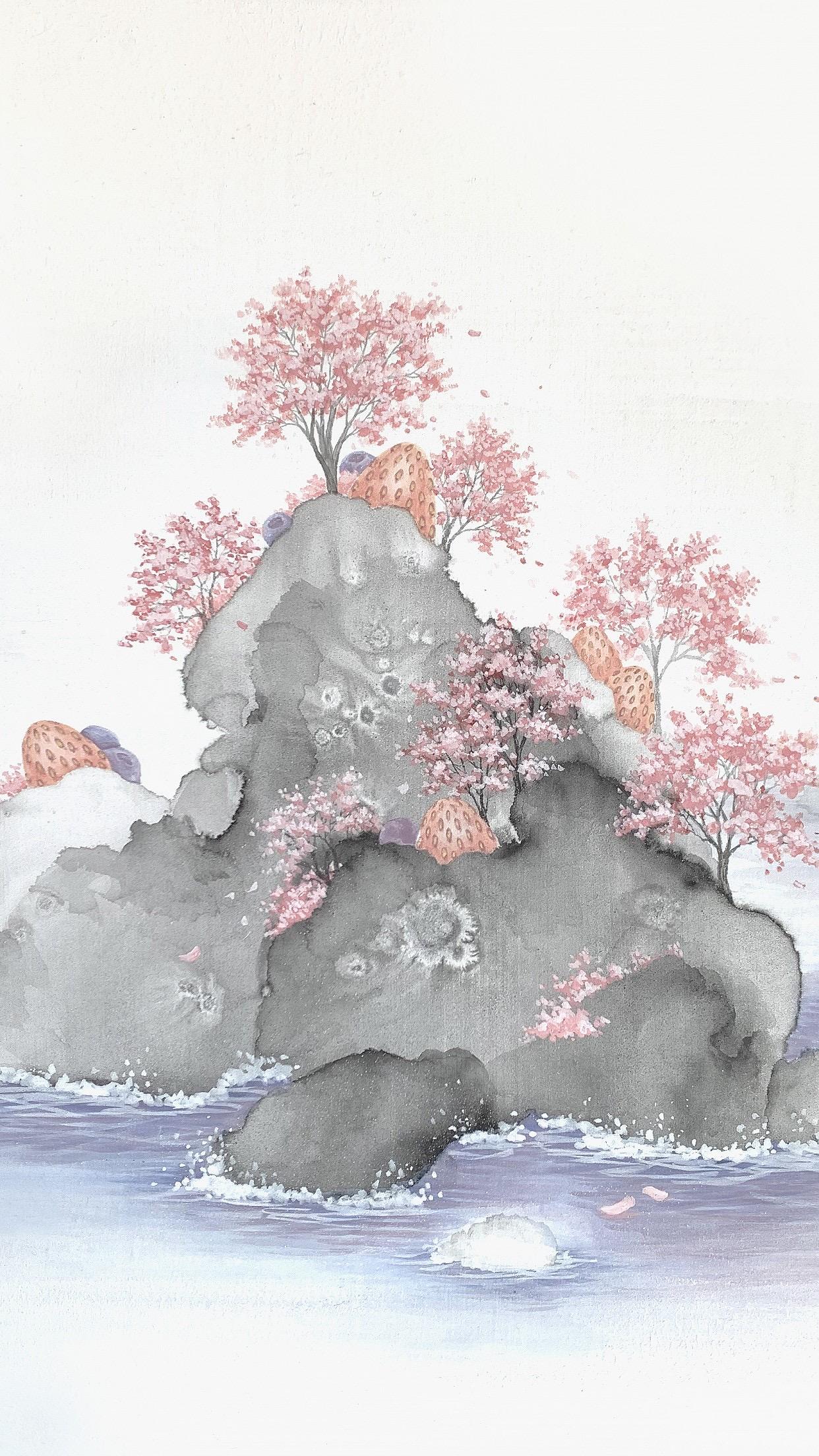 Sweet Islands - 韩国插画师 Euna Jo 作品:甜点岛屿