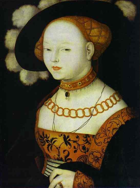《Portrait of a Lady》Hans Baldung Grien 汉斯·布格迈尔