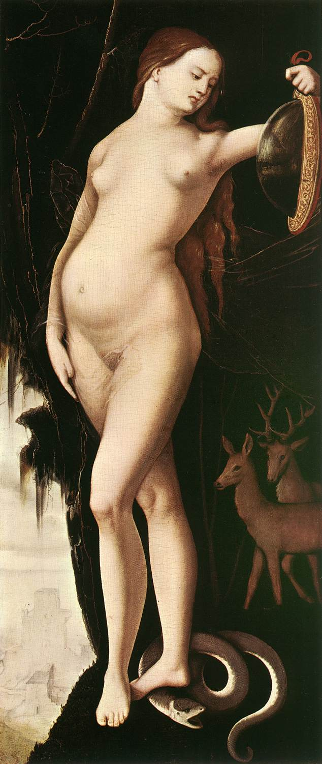 《Prudence》Hans Baldung Grien 汉斯·布格迈尔