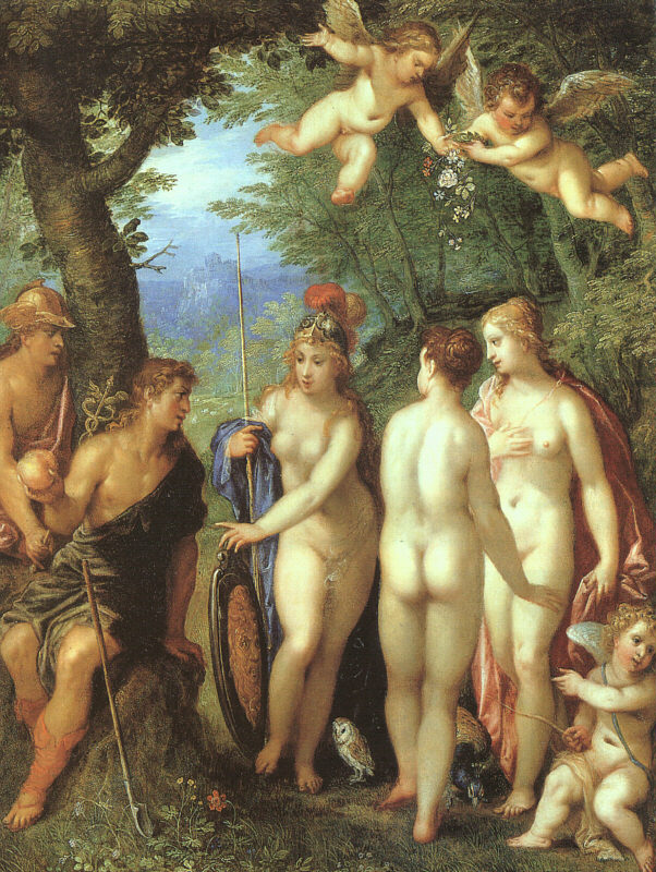 《The Judgement of Paris》Hendrick van Balen亨德里克·凡巴伦