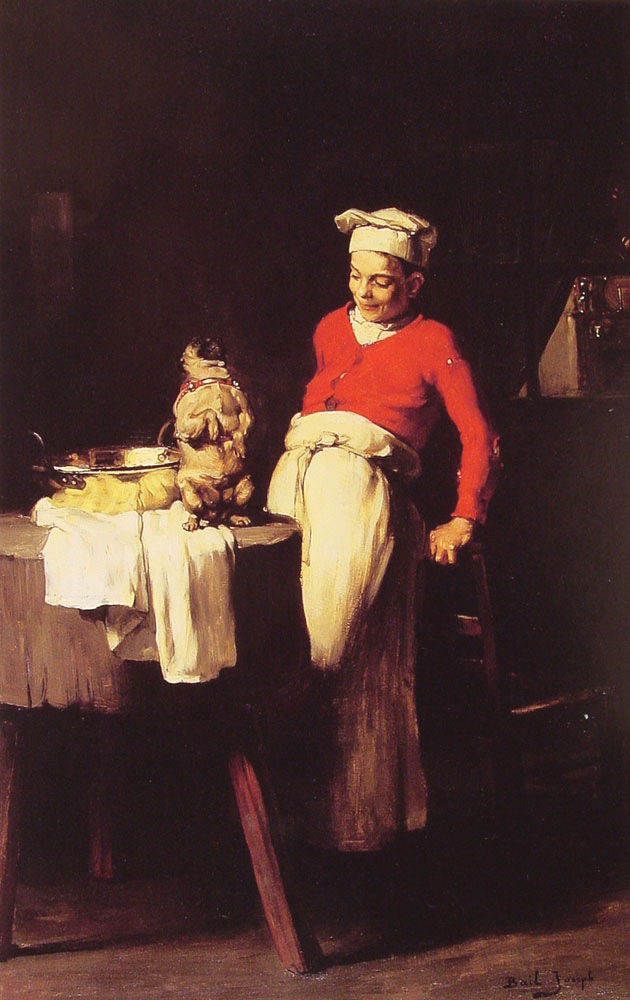 《The Cook and the Pug》约瑟夫·贝尔Joseph Bail