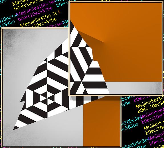 汇创名品-INVENTIVE-现代几何叠画E款装置画