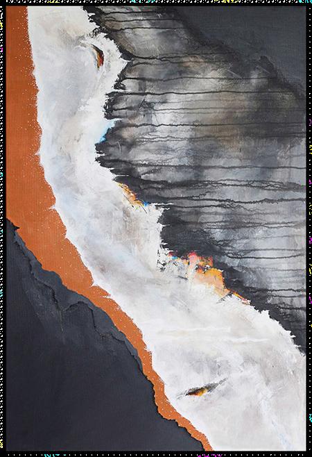 雅溪-简约轻奢抽象画
