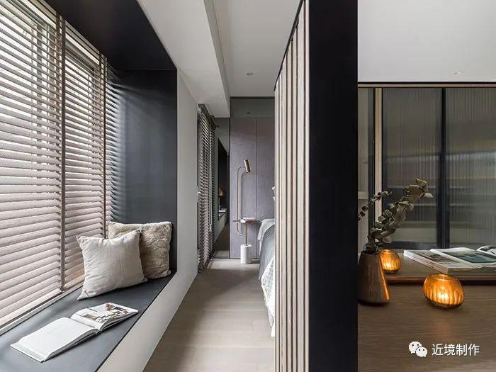 224㎡台北叠旭——用光叠出生活场域 阅读空间的层次 | 近境制作