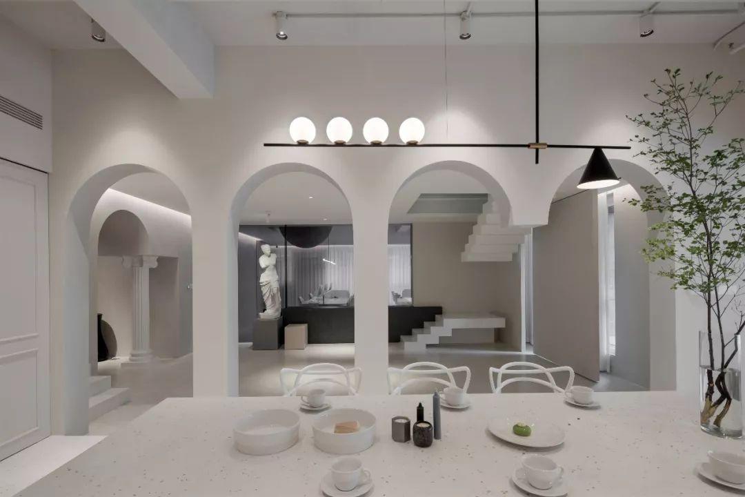 一个可以直播与烘焙的办公室 | 时上建筑空间设计