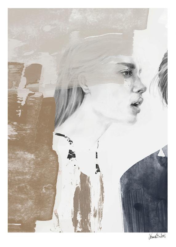 DearF|ANNA BULOW|Whispers|挪威进口装饰画