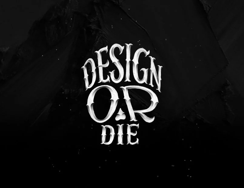Jonathan Ortiz风格多变的字体创作