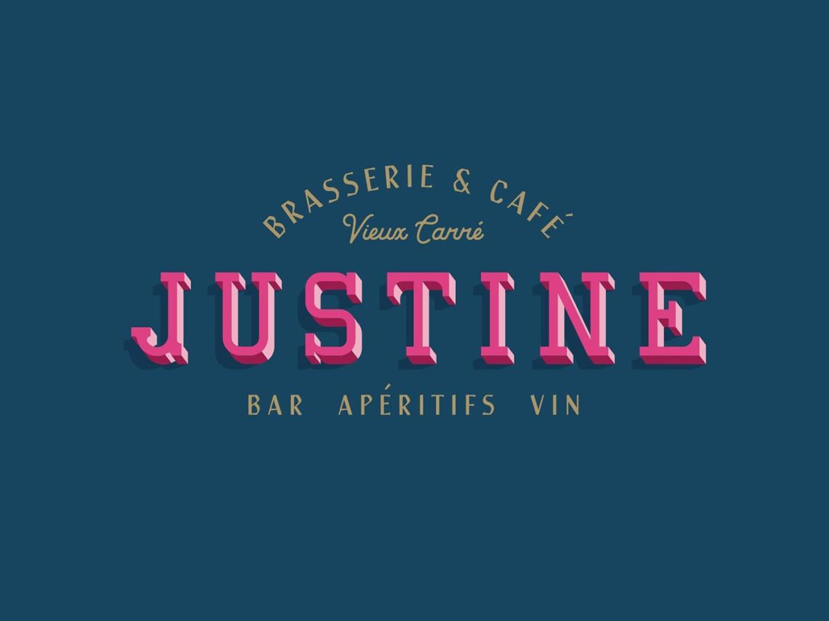 Justine餐厅品牌形象设计